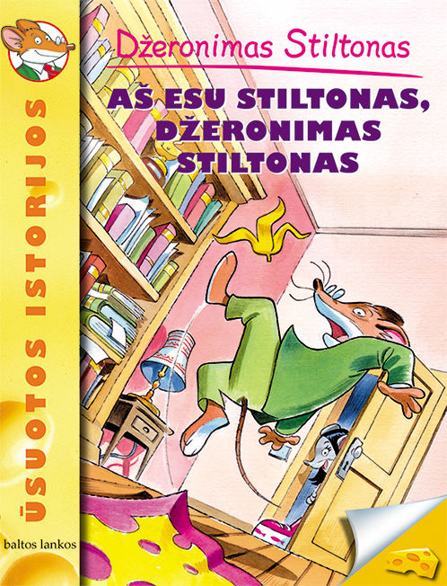 Aš esu Stiltonas, Džeronimas Stiltonas
