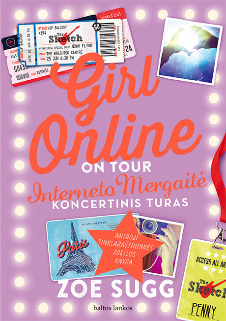 Girl online: on tour. Interneto Mergaitė. Koncertinis turas