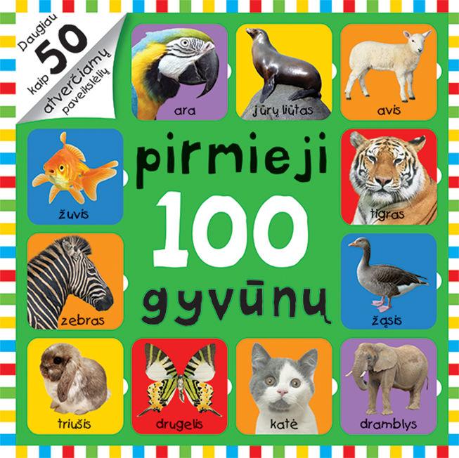 Atversk paveikslėlius. Pirmieji 100 gyvūnų