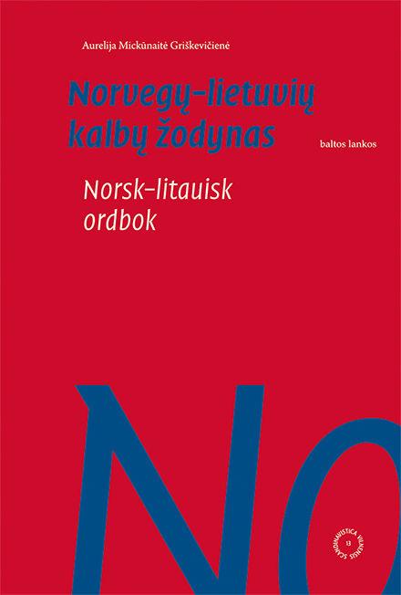 Norvegų–lietuvių kalbų žodynas