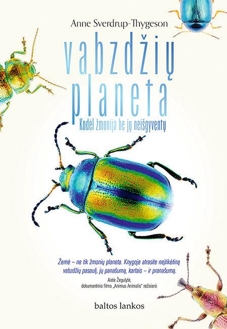 El. knyga Vabzdžių planeta. Kodėl žmonija be jų neišgyventų